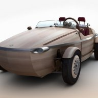 Toyota builds EV made of wood...