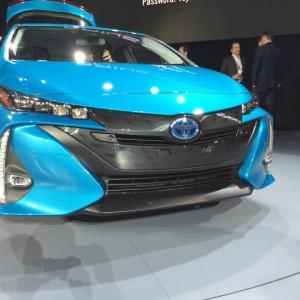 2017 Prius Prime Front