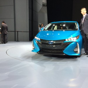 2017 Prius Prime Low Beams