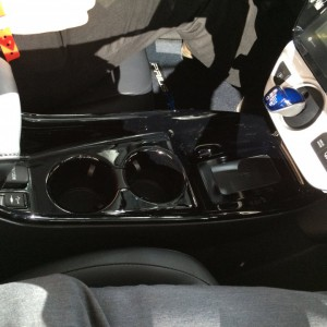 2017 Prius Prime Front Console