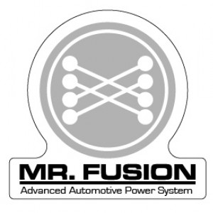 Mr. Fusion Stickers