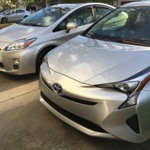 Prius Sibling Rivalry