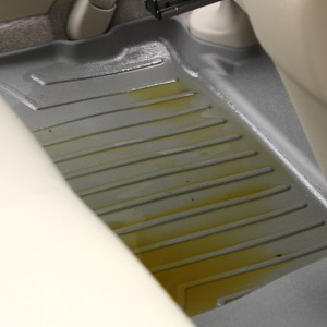 Rear WeatherTech mats