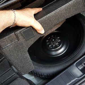 2016 Prius 4 with spare tire