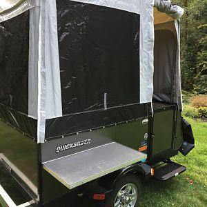 Tent Trailer Exterior