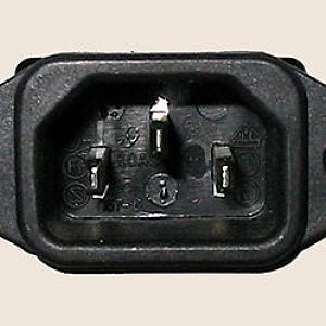 Power Supply Male Receptacle