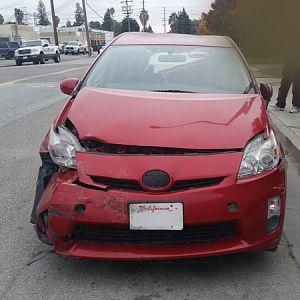 Damaged Prius