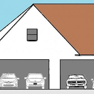 House With 2 Garages