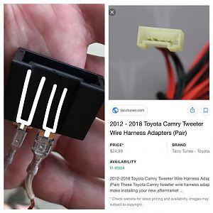 Dash Speaker Connector