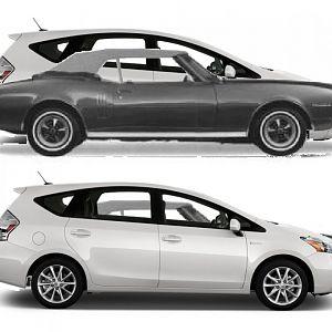 Prius V Vs Firebird Compare 2