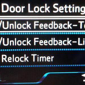 Lock Settings