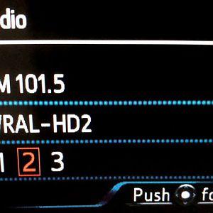 Original FM Center-Screen Display