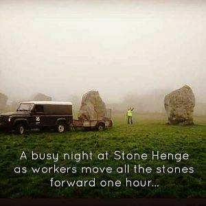 Daylight Savings At Stonehenge