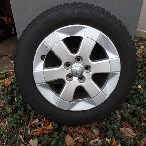 Gen 2/3 snow tires+whels