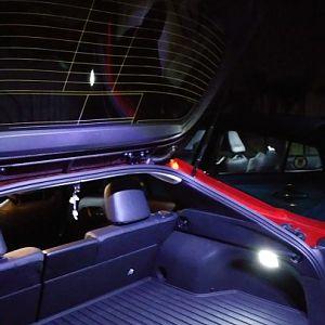 Overhead Prius Prime cargo light