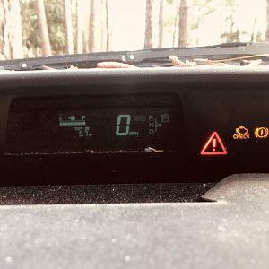 2005 Prius Dash