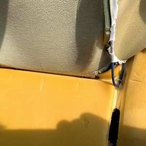 Seat Back Foam Replacement