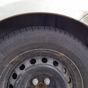 Tire Sag Due to Weight