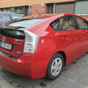 Prius from right back
