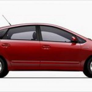 Red 2008 Prius
