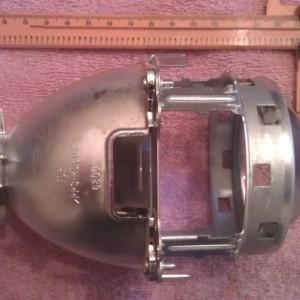 Stock prius headlight projector