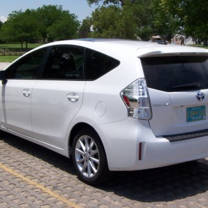 New window tint, Prius V