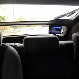 "7"" monitor rear window"