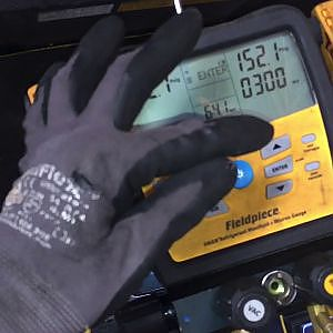 Leak test High pressure nitrogen decay test