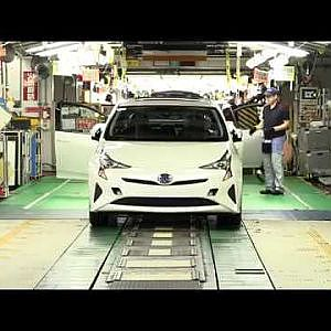 Toyota Prius assembly line in Japan