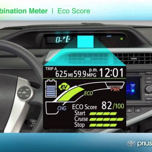 Prius C - technical overview and driving review - YouTube