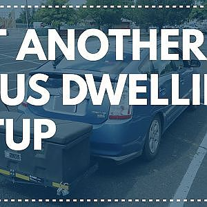 Yet Another Prius Dwelling Setup - How I live in a 2008 Prius hybrid electric car!  - YouTube